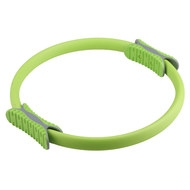 PLR-200 Кольцо эспандер для пилатеса 38 см (зеленое) (56-915), 10017406, ОБРУЧИ