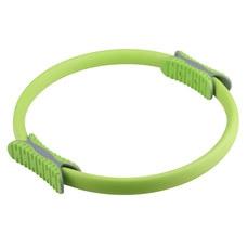 PLR-200 Кольцо эспандер для пилатеса 38 см (зеленое) (56-915)