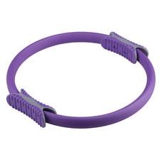 PLR-200 Кольцо эспандер для пилатеса 38 см (фиолетовое) (56-915)