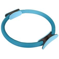PLR-100 Кольцо эспандер для пилатеса 38 см (голубое) (56-914)