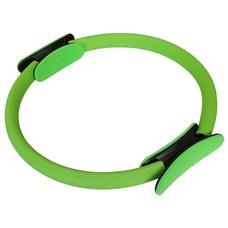 PLR-100 Кольцо эспандер для пилатеса 38 см (зеленое) (56-914)