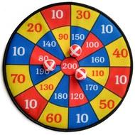 B31293 Набор для игры в Дартс 28 см с шариками на липучках, 10017523, ДАРТС, ДРОТИКИ