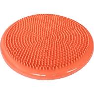 C33514-5 Полусфера массажная овальная надувная (оранжевая) (ПВХ) d-33см, 10017572, МЯЧИ ГИМНАСТИЧЕСКИЕ