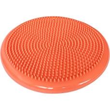 C33514-5 Полусфера массажная овальная надувная (оранжевая) (ПВХ) d-33см