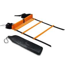 B31305-2 Лестница координационная 4 метра (оранжевая в чехле)