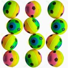 T07540 Эспандер мяч 7,6 см (с рисунком)