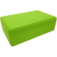 BE100-5 Йога блок полумягкий (зеленый) 223х150х76мм., из вспененного ЭВА (A25572), 10018499, ЙОГА БЛОКИ