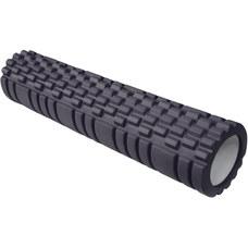 E29390 Ролик для йоги (черный) 61х14см ЭВА/АБС