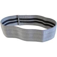 E29301 Эспандер лента для пилатеса растяжки размер M (серый), 10018584, ЭСПАНДЕРЫ