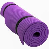HKEM1208-06-PURPLE Коврик для фитнеса 150х60х0,6 см (фиолетовый), 10019001, XPE/ЭПП