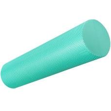 B33084-2 Ролик для йоги полумягкий Профи 45x15cm (зеленый) (ЭВА)