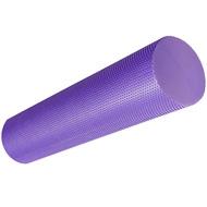 B33085-3 Ролик для йоги полумягкий Профи 60x15cm (фиолетовый) (ЭВА), 10019078, ЙОГА РОЛИКИ