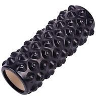 B33071 Ролик для йоги (черный) 33х14см ЭВА/АБС, 10019100, ЙОГА РОЛИКИ