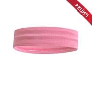 B34464-2 Повязка на голову с силиконом 4х24см (розовая), 10019328, АКСЕССУАРЫ