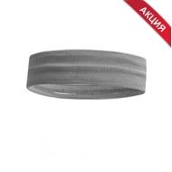 B34464-3 Повязка на голову с силиконом 4х24см (серая), 10019329, АКСЕССУАРЫ