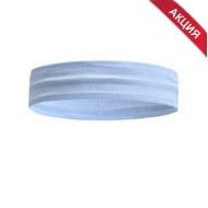 B34464-4 Повязка на голову с силиконом 4х24см (голубая), 10019330, АКСЕССУАРЫ