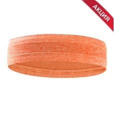 B34465-2 Повязка на голову с силиконом 5х24см (оранжевая)