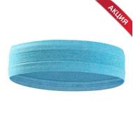 B34465-4 Повязка на голову с силиконом 5х24см (синяя), 10019338, АКСЕССУАРЫ
