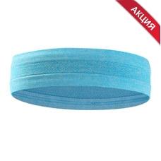 B34465-4 Повязка на голову с силиконом 5х24см (синяя)