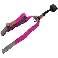 B34480 Эспандер для растяжки - йога лента Profi 3м (розовый), 10019379, Эспандеры Трубки Ленты Жгуты