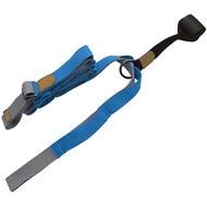 B34481 Эспандер для растяжки - йога лента Profi 3м (синий), 10019380, Эспандеры Трубки Ленты Жгуты
