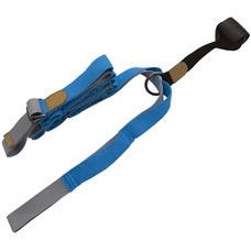 B34481 Эспандер для растяжки - йога лента Profi 3м (синий)