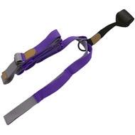 B34483 Эспандер для растяжки - йога лента Profi 3м (фиолетовый), 10019381, Эспандеры Трубки Ленты Жгуты