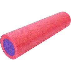 PEF30-2 Ролик для йоги полнотелый 2-х цветный (РОЗОВО/фиолетовый) 30х15см. (B34490)