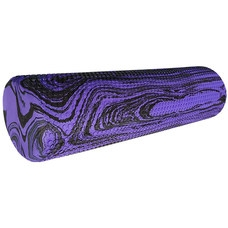 RY45-MK2 Ролик для  йоги и пилатеса 45x15cm (ЭВА) (фиолетовый гранит) D34493