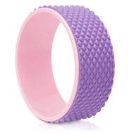 FWH-101 Колесо для йоги массажное 31х12см 6мм (розово/фиолетовое) (D34474), 10019425, Массаж и Акупунктура