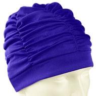 F11780 Шапочка для плавания текстильная (лайкра) (синяя), 10013193, 00.Новые поступления