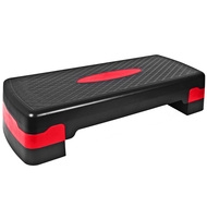 HKST105-B Степ доска 2-х уровневая (красный), 10010832, Степперы