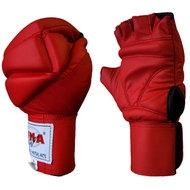 """WGG-356  р. ХL Перчатки для MMA """"WMA"""" (красые), 10011007, 00.Распродажа"""