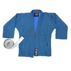 """WSJ-43 р.5/180  Куртка для самбо """"WMA"""" (синяя)"""