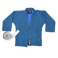 "WSJ-43 р.6/190  Куртка для самбо ""WMA"" (синяя), 10010870, Кимоно"