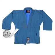"WSJ-43 р.6/190  Куртка для самбо ""WMA"" (синяя), 10010870, 04.БОКС И ЕДИНОБОРСТВА"