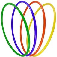 """Обруч пластиковый """"Спорт"""" 70см (цвета-Микс) (d-22), 10013459, ОБРУЧИ"""