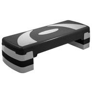 HKST106-X Степ доска 3-х уровневая (серый), 10013112, Степперы