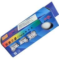 H09908 Шарики для настольного тенниса 2-звезды (3-шт. белые), 10013978, Шарики для настольного тенниса