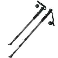 F18435 Палки для скандинавской ходьбы (черная) до 1,35м Телескопическая, 10014067, Палки для ходьбы