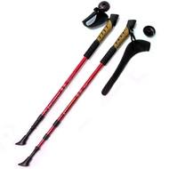 F18440 Палки для скандинавской ходьбы (красные) до 1,35м Телескопическая, 10014072, Палки для ходьбы
