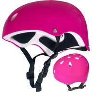 F11721-2 Шлем защитный универсальный JR (розовый), 10013160, Велозамки и ШЛЕМА