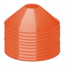 Конус фишка разметочный KRF-5 размер h-5см (оранжевый), пластиковый