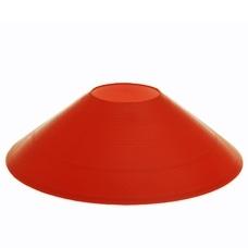Конус фишка разметочный KRF-5 размер h-5см (красный), пластиковый
