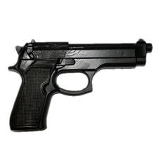 """Пистолет тренировочный """"1M"""" (черный), (мягкий)"""